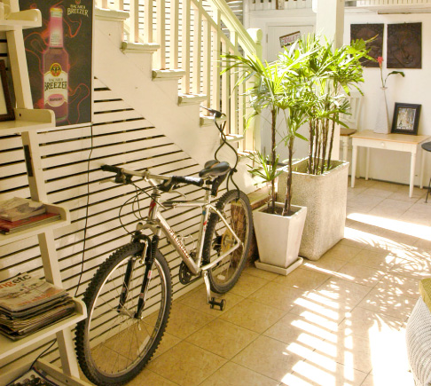 Courtyard, Green Gallery Bed & Breakfast, Hua Hin